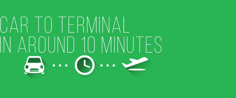 Car to Terminal in 10 Minutes